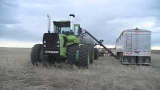 straight piped steiger panther st325   seeding 2014   case ih concord