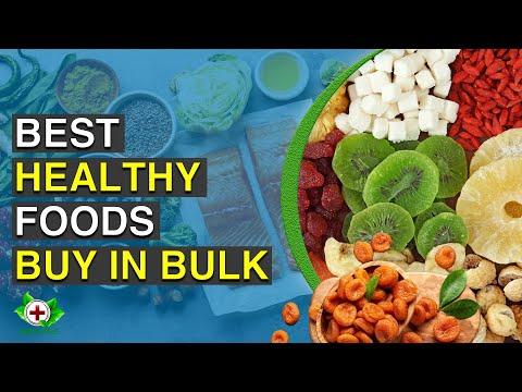 Top 10 Healthy Foods to Buy in Bulk