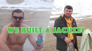 We Built a Mountain Jacuzzi | DD Tajikistan VLOG 7