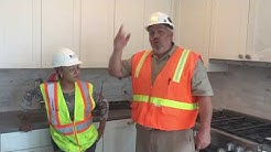 Looking for a job in construction ? Part 2 . Young people watch this video. OSHA.