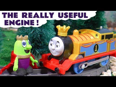 Thomas The Tank Engine Big World Big Adventures Really Useful Engine King Thomas TT4U