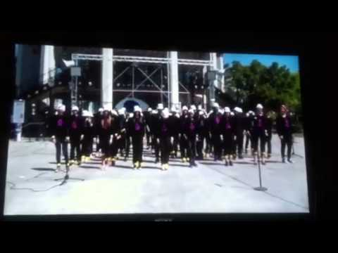 "Lipman Middle School Show Choir performs ""Rain"" at Great Am"