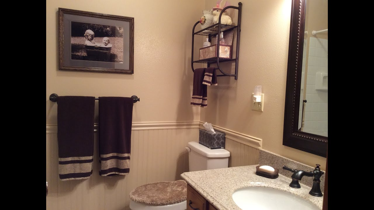 Bathroom Remodeling Ideas Youtube diy - renovating a small bathroom - after 35 years! - youtube