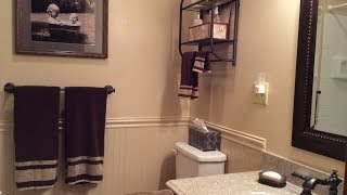 Diy - Renovating A Small Bathroom - After 35 Years!