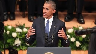Obama\'s entire Dallas police memorial speech