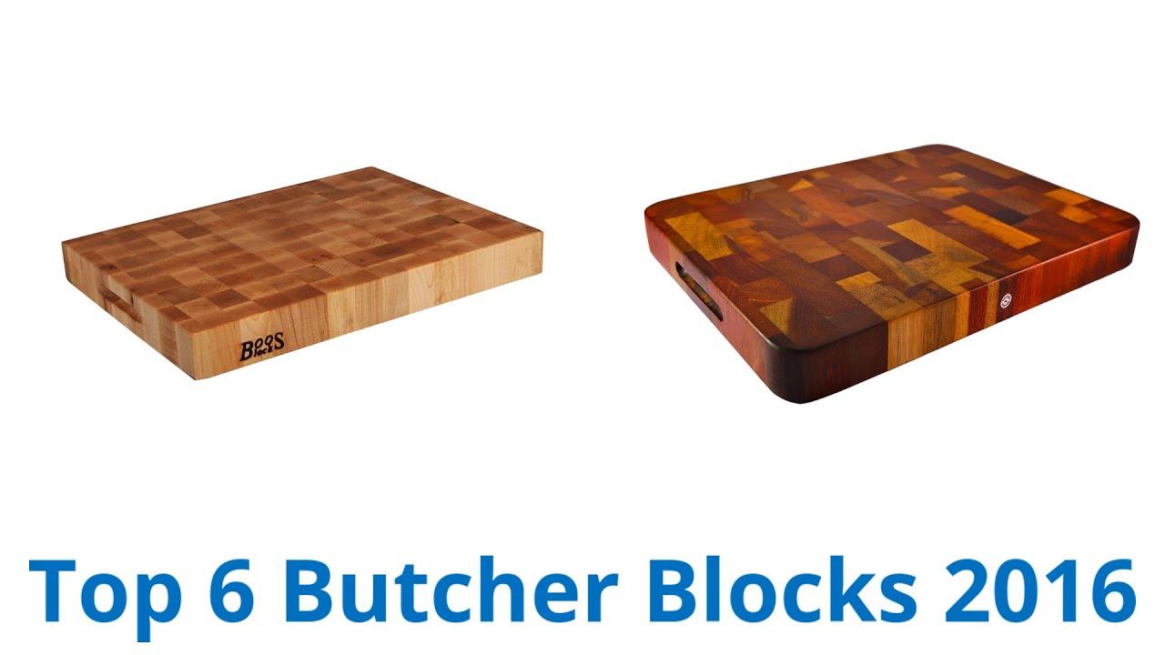 6 best butcher blocks 2016 youtube