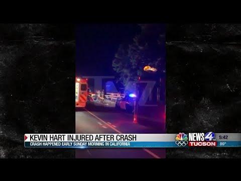Comedian Kevin Hart injured in car accident - VidNews
