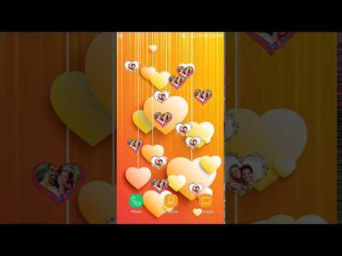 Love Heart Slideshow Live Wallpaper