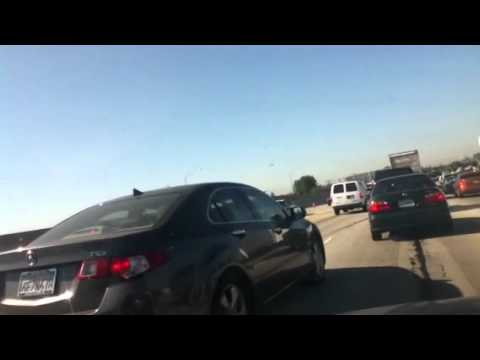 Accidente en el freeway 91