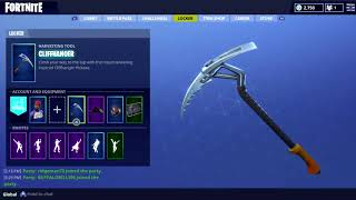 All My Season 3 Stats, Skins, Gliders, & Pickaxes (Fortnite Battle Royale R.I.P Season 3)