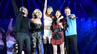 Taylor Swift Performs Pontoon With Little Big Town BTS Video in Pittsburgh
