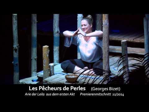 "Leila's Aria ""Oh Dieu Brahma"" - Les Pêcheurs de Perles (Diana Damrau)"