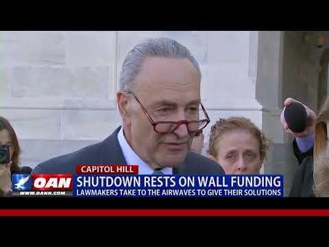 Shutdown rests on border wall funding