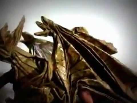 origami divine dragon - YouTube  origami divine ...