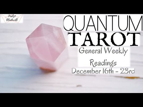General Weekly Tarot Readings for Astrological Signs 12/16-12/23