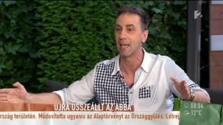 Titkos találkozót szerveztek Csonka Andrásnak az ABBA tagjával - tv2.hu/mokka