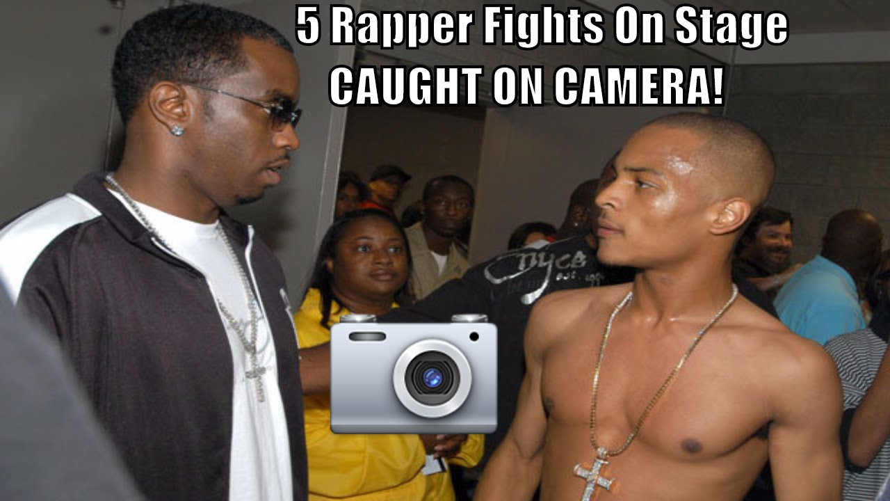 5 Rapper Fights On Stage - Caught On Camera Featuring ASAP Rocky ...