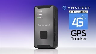 Amcrest AM-GL300W 4G GPS Tracker Feature Highlight