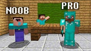Minecraft Noob vs. Pro : MONSTER SCHOOL ANIMATION challenge - funny Minecraft Battle