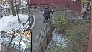 SURVEILLANCE VIDEO Shows NYPD SHOOTING A SURRENDERING Brooklyn Black TEEN!!