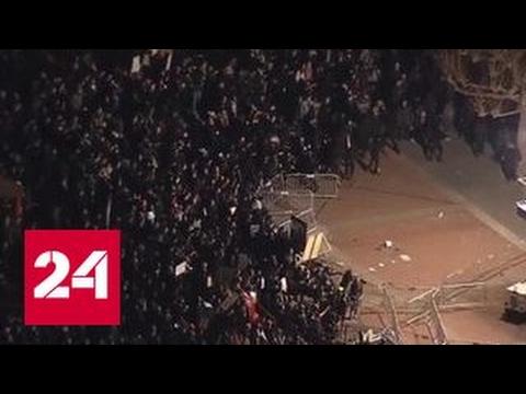 Протесты в Калифорнии переросли в массовые беспорядки