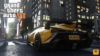 GTA 6 Graphics Cars Gameplay HD1080p | 2018