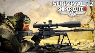 Sniper Elite 4 Survival Mission Part 2   PC Gameplay Ultra Settings   हिंदी में