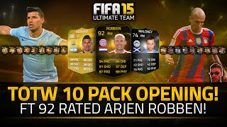 FIFA 15 | 250K WORTH PLAYER! YES!!! Pack Opening feat. IF 92 ROBBEN!