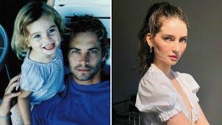 Дочь погибшего Пола Уокера выросла красавицей
