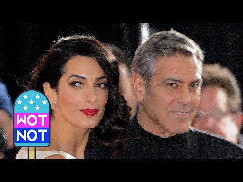 Amal & George Clooney Share a Moment on the Red Carpet