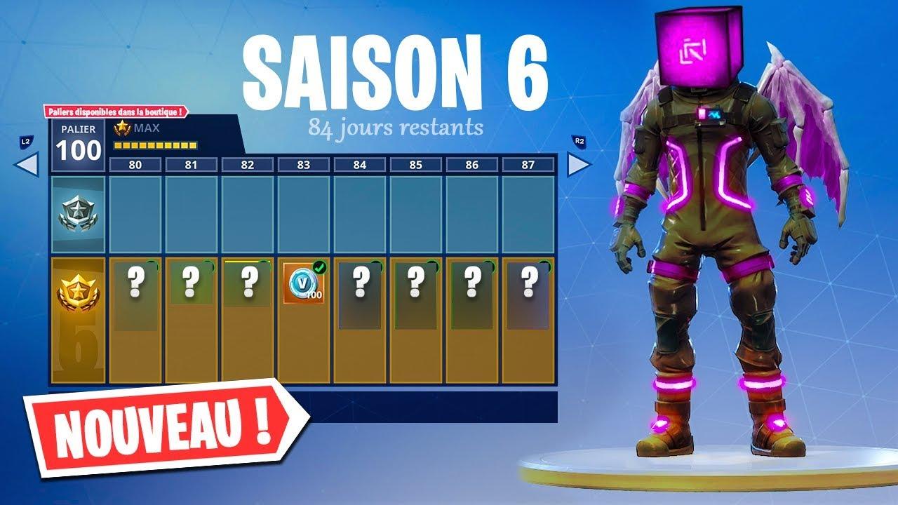 fornite saison 6