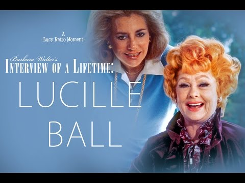 Lucille Ball & Barbara Walters: An Interview of a LifeTime (FULL)