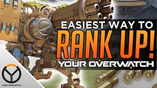 Overwatch: The Easiest Way to RANK UP