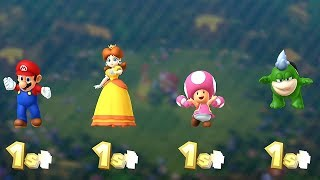 Mario Party 10 Coin Challenge ◆ Mario VS Daisy VS Toadette VS Spike (Very Hard Difficulty) #6