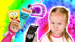 Sofi and magic TV | Toys in real life