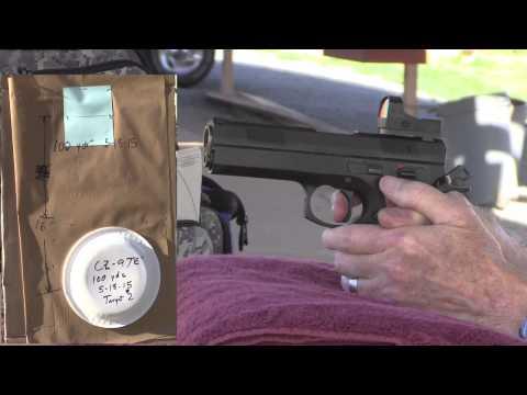 Pistol Range 5 18 15 100 yd CZ 97