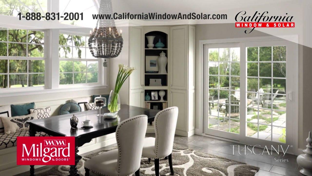California Window Solar In Orange County Ca Offers Milgard Tuscany Windows And Doors