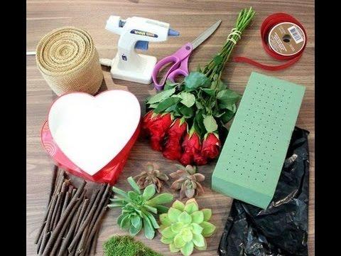 [Hoa Nghệ Thuật] Hướng Dẫn Cắm Giỏ Hoa Trái Tim | Dạy Cắm Hoa Nghệ Thuật Đơn Giản|dienhoa24