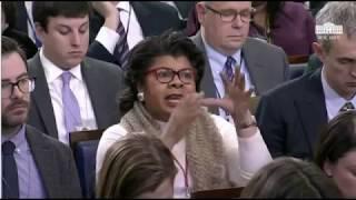 Sarah Huckabee Sanders Schools April Ryan on 'Un-American Democrats'