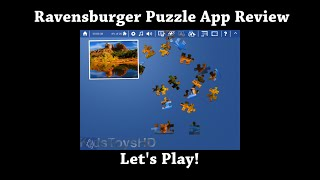 """Let's Play """"Ravensburger Puzzle - the jigsaw collection"""" App Review for iPhone & iPad"""