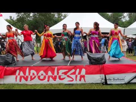 Indonesia Pavilion Dance Performances  Edmonton Heritage Festival 2017 (Day two)