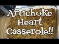 Artichoke Heart Casserole: The Holidays are Coming!