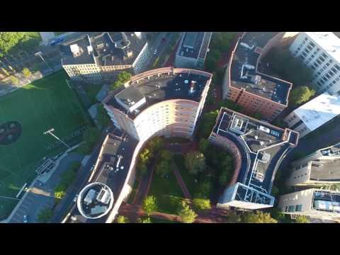 Northeastern University Drone View