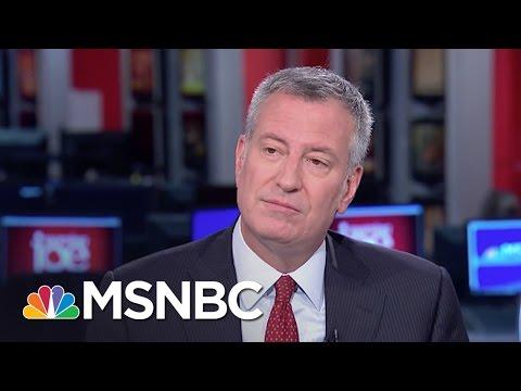 Bill De Blasio Weighs In On Bernie Sanders As Hillary Clinton VP | Morning Joe | MSNBC