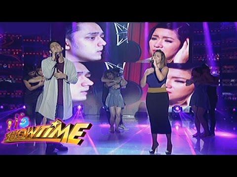 """It's Showtime: Angeline, Michael sing """"Parang Tayo Pero Hindi"""""""