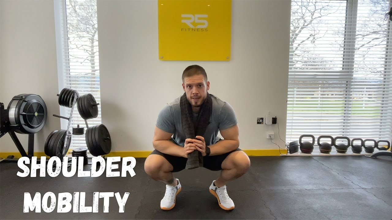 Shoulder Mobility Exercises - Using Just a Towel