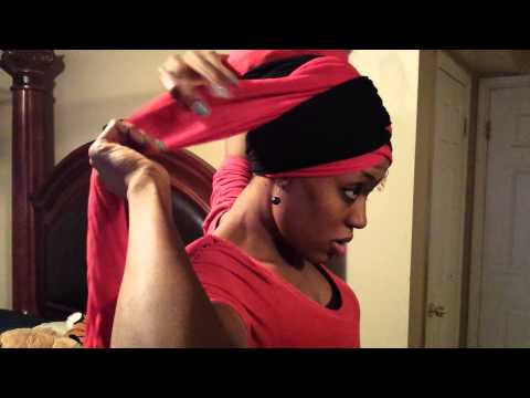 Head wrap tutorial by Atarah (Born crown)