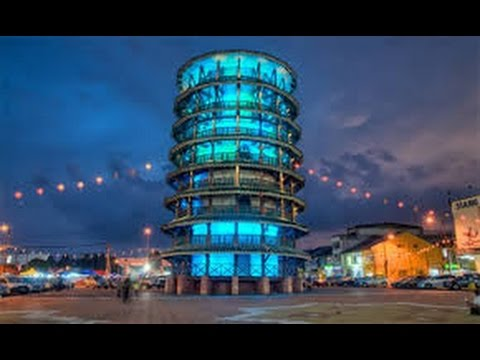 The Leaning Tower of Teluk Intan ~ 安顺斜塔
