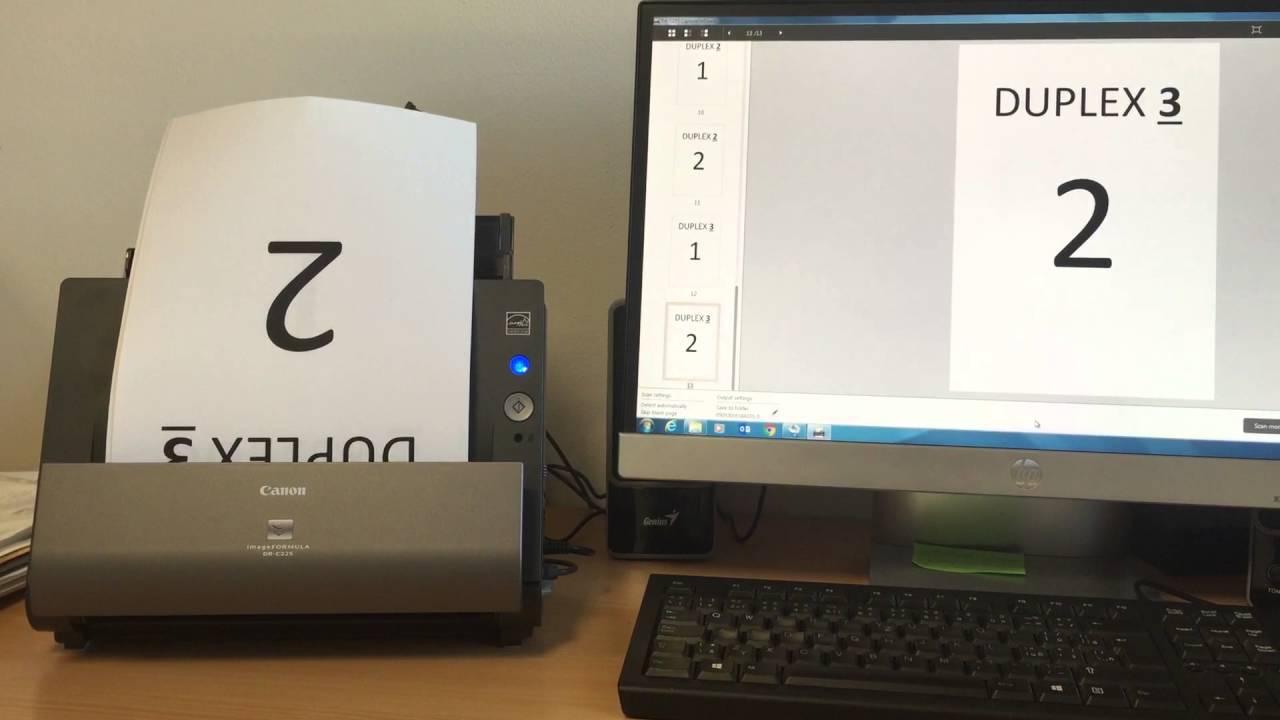 Canon imageFORMULA DR-C225 II Driver Download, Manual ...