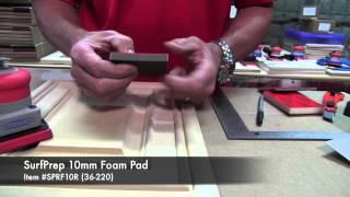 07 SurfPrep 10mm Foam Pads